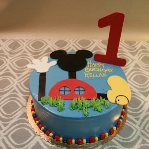 RC Applique Mickey Mouse Clubhouse Dessert Works