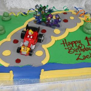 Sloped Road On Cake