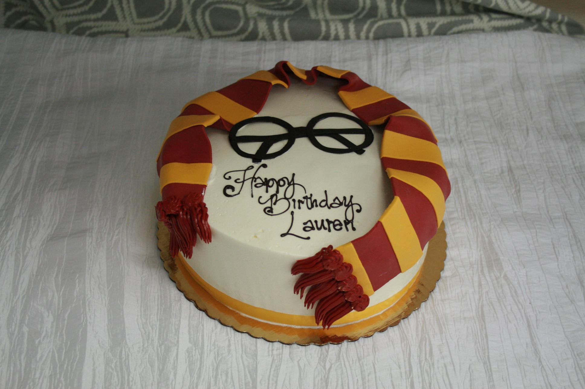 Harry Potter Gryffindor Scarf Dessert Works