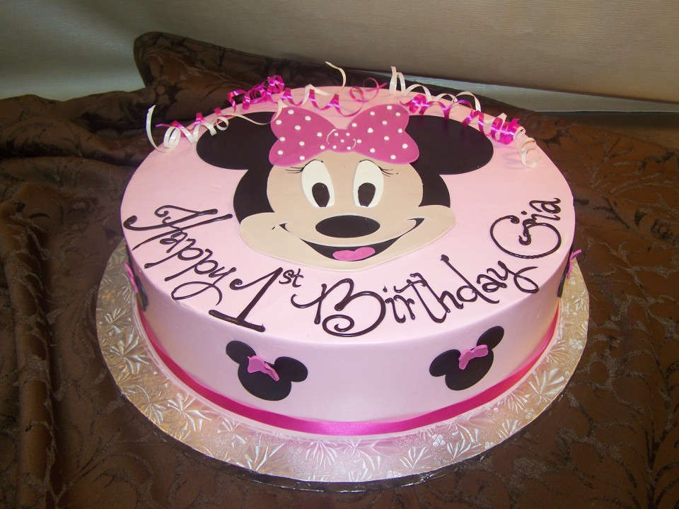 3 Cake Minnie Mouse Dessert Works